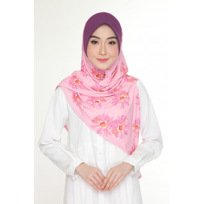 Instant Bawal Raisya Printed Adult - Royal Daisy