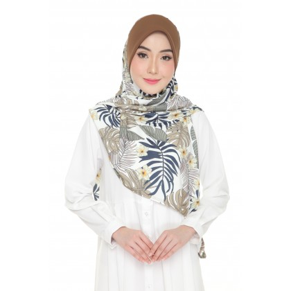 Instant Bawal Raisya Printed Adult - Oak Tropical