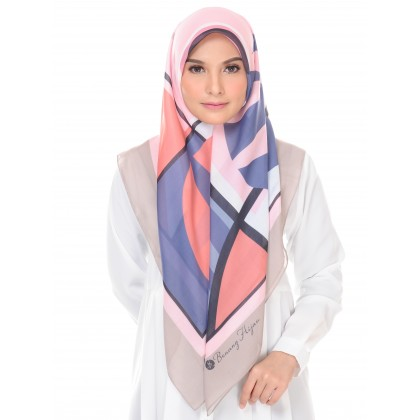 Kaela Cotton Square Scarf - Trendy Abstract (2nd Batch) 55'
