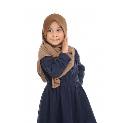 Instant Bawal Raisya Plain Kids L - Light Taupe