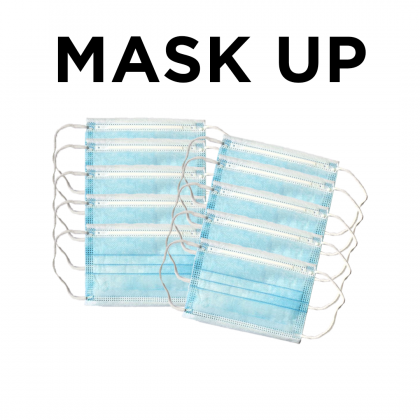10 pieces of Kid's 3 Ply Disposable Face Mask