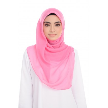 Maira Square Luxe Cotton Voile - Pink