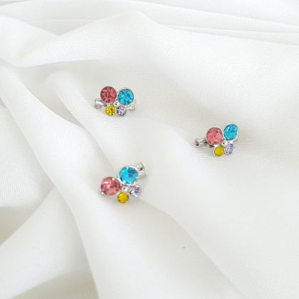 Baby Brooch - Code 062F Colourful