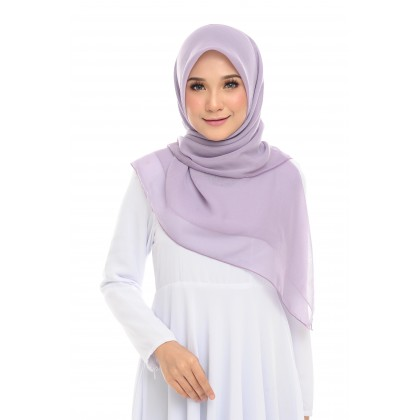 Maira Square Cotton Voile - Amethyst