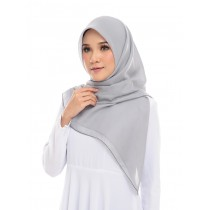PRE-ORDER Maira Square Cotton Voile - Cloud Grey
